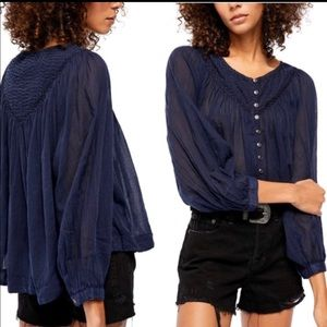 Free people cool meadow top. NWT